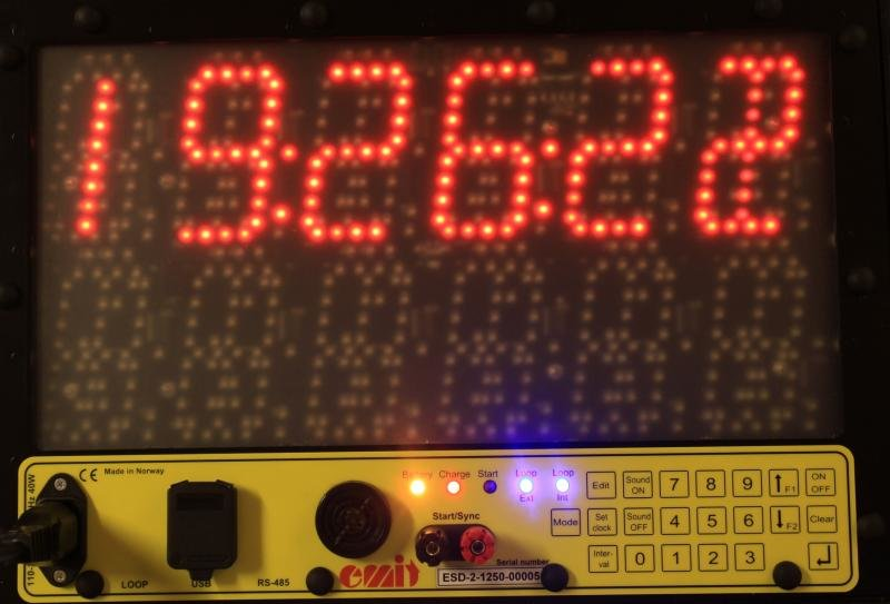 EMIT Start Display - ESD2