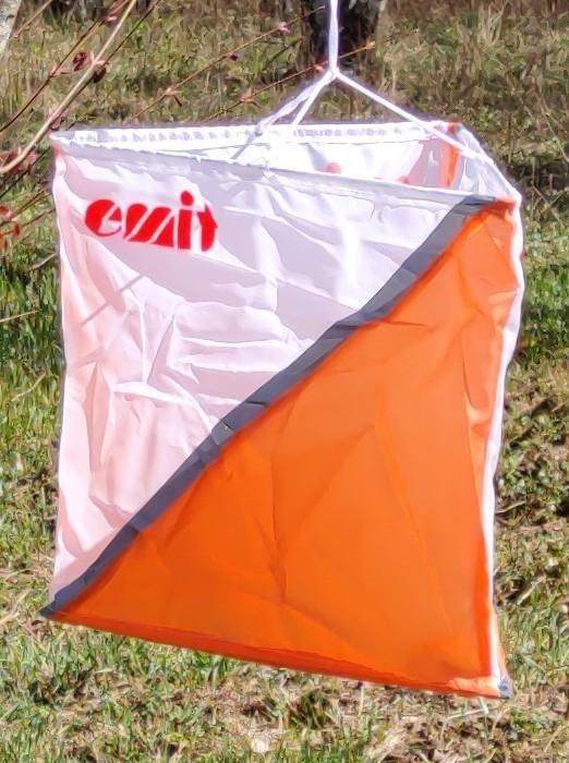 Orienteringsskärm 30x30cm med reflex 10-pack